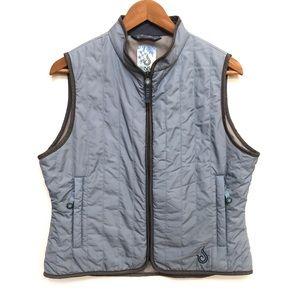 Isis light blue vest